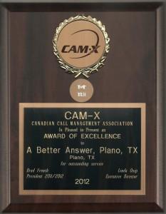 2012 CAMX Award of Excellence Top Ten Plano