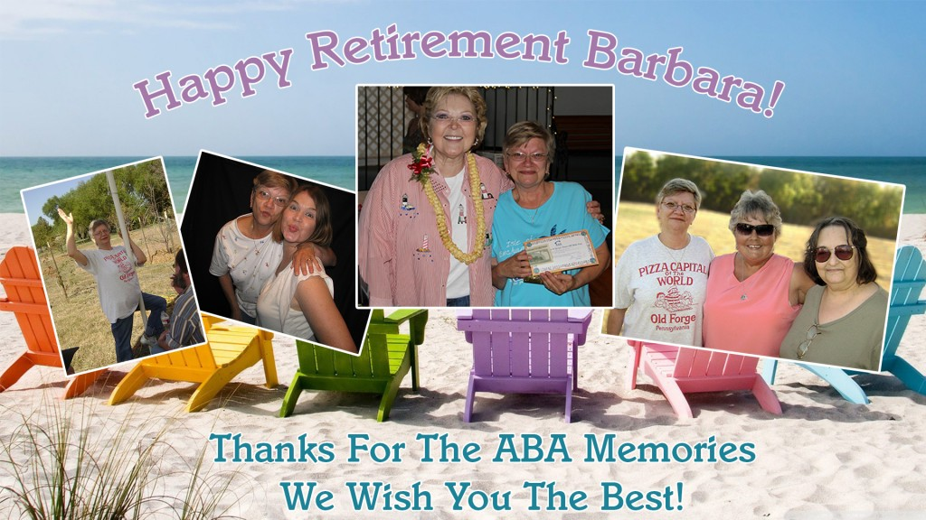 ABA's Operator Barbara Retires From ABA After 32 Years!