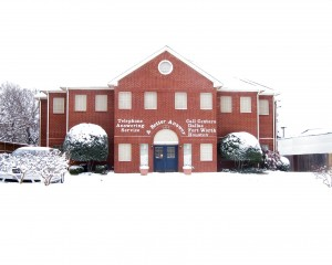 ABA's Dallas Office During the Snowstorm