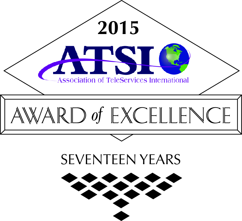 A Better Answer Wins ATSI Award of Excellence for 17th Year!