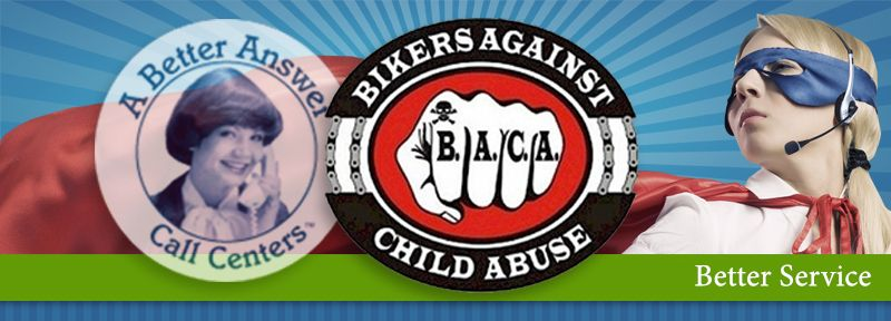 A Better Answer Raises Over $5,000 for Bikers Against Child Abuse