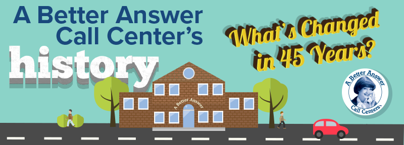 A Better Answer Call Center's History: What's Changed in 45 Years