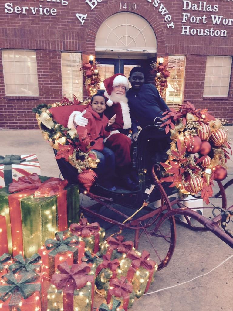 Santa's Visit to ABA