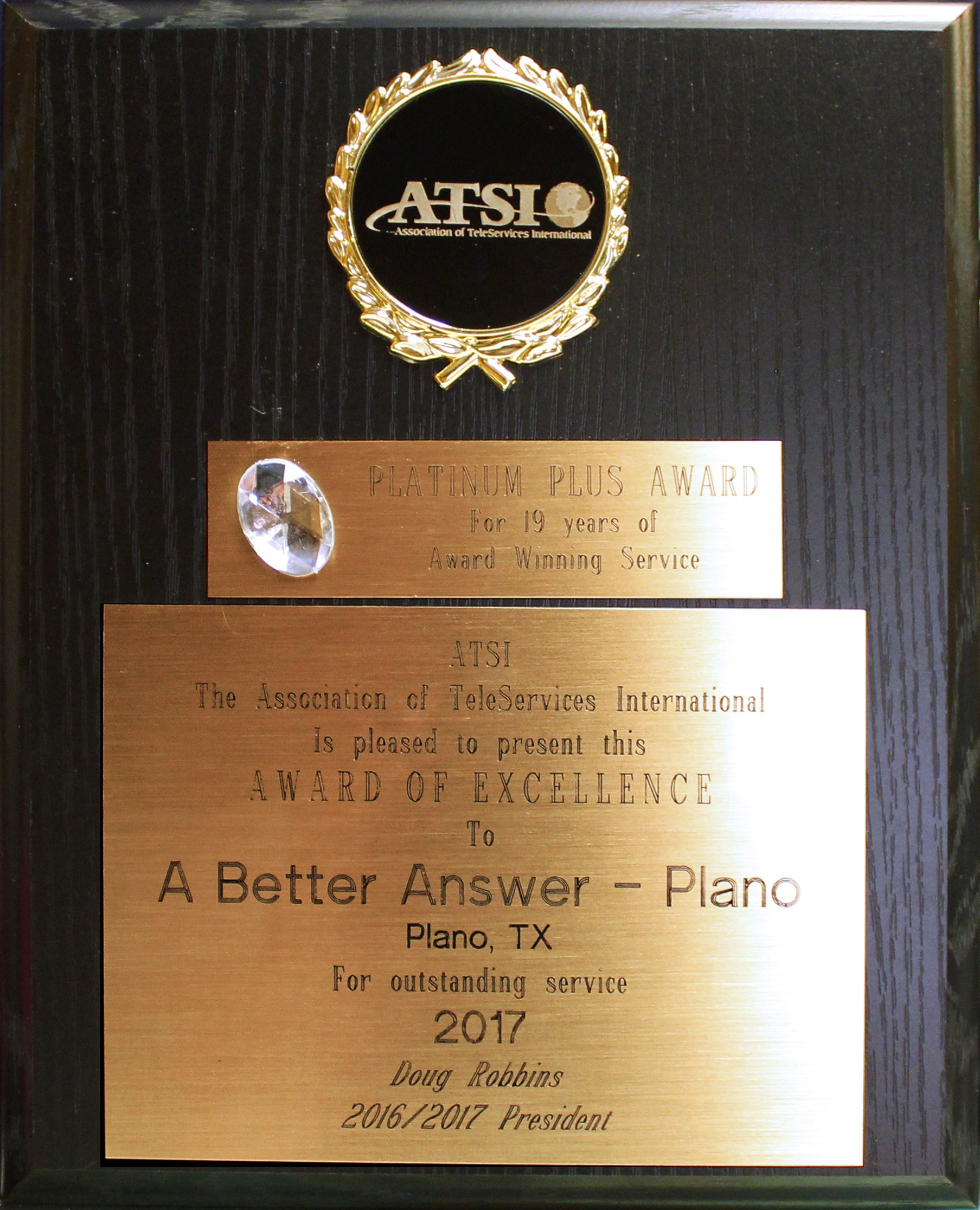 ATSI Award 2017