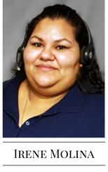 Irene Molina - September Call Handling Hero
