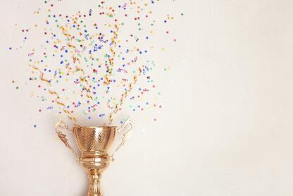Trophy with Confetti-small