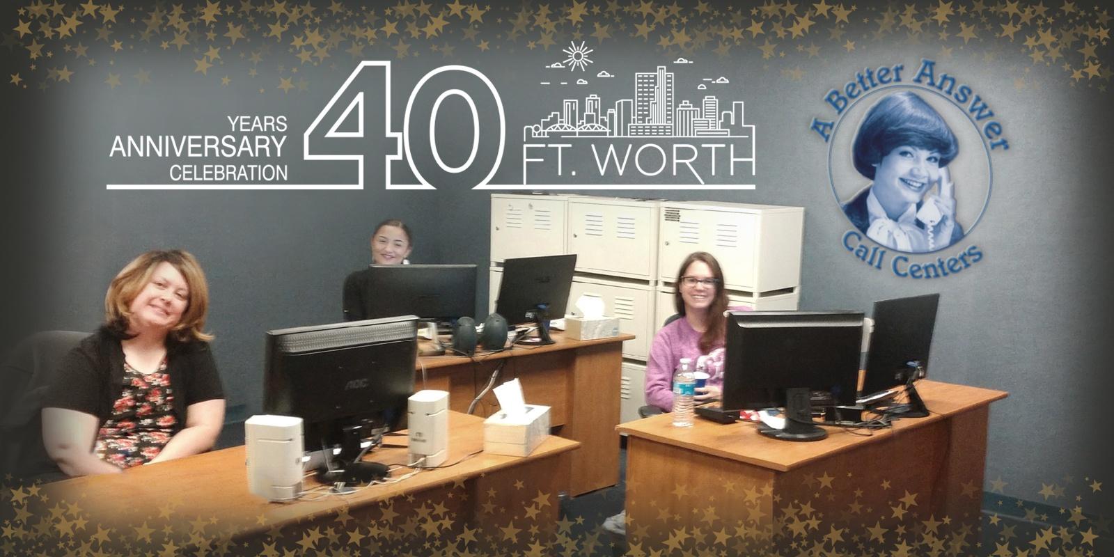 40 Wonderful Years in Fort Worth, Texas